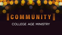 Calvary College Age Ministry