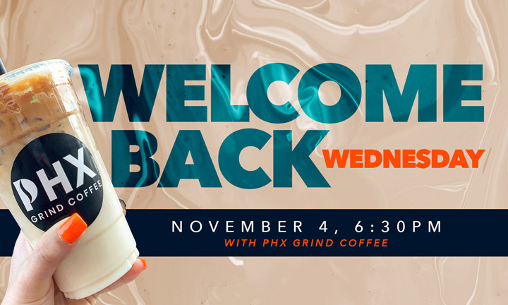 Welcome Back Wednesday 11/4